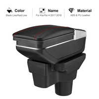 Armrest Box For Rio 4 2017 2018 Central Store Content Organizer Car Styling Accessories