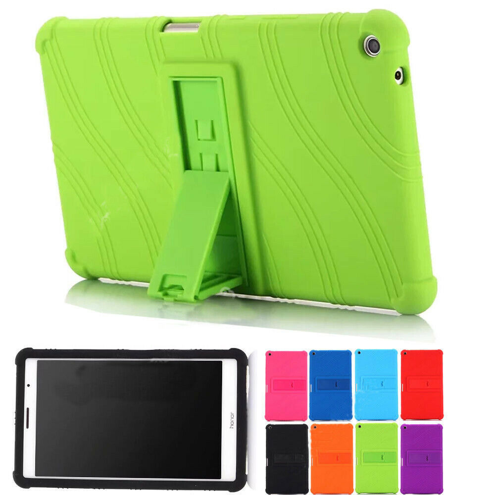 Case For Funda Huawei Media Pad Mediapad T3 8 KOB-L09 KOB-W09 8.0 Tablet Cases Soft Silicone Shockproof Stand Cover Case