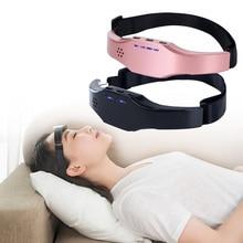 Electric Head Massager Brain Sleeping Aid Therapy Sleep Insomnia Helper Stress Relax Headache Eliminator Hypnotic Apparatus