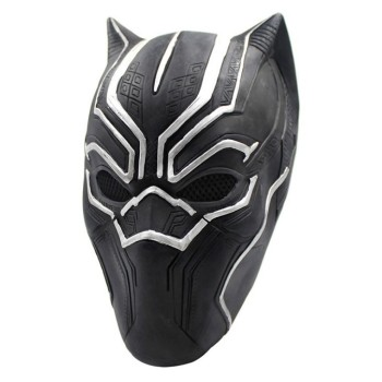 Movie Black Panther Masks Movie Captain America Civil War Cosplay Costume Full Face Latex Helmet Mask Halloween Mask