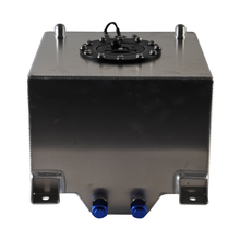 цена на Universal 10gallon 40L Aluminium Fuel Surge tank with Cap Fuel cell 40L with sensor foam inside