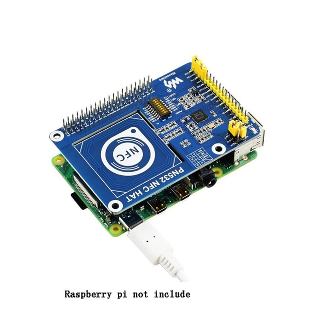 PN532 NFC HAT for Raspberry Pi, Supports Three Communication Interfaces: I2C, SPI, and UART