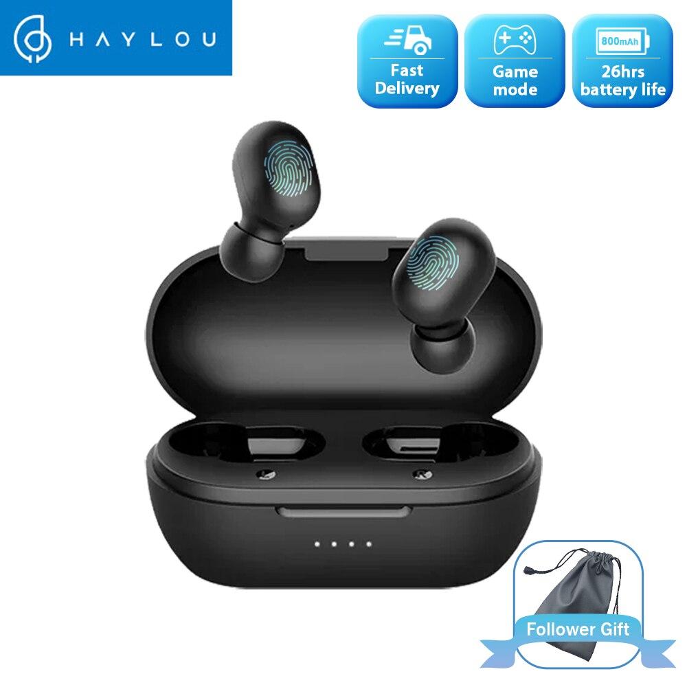 Haylou GT1 Pro большая батарея TWS Bluetooth наушники с сенсорным управлением беспроводные наушники HD стерео с двойным микрофоном шумоизоляция