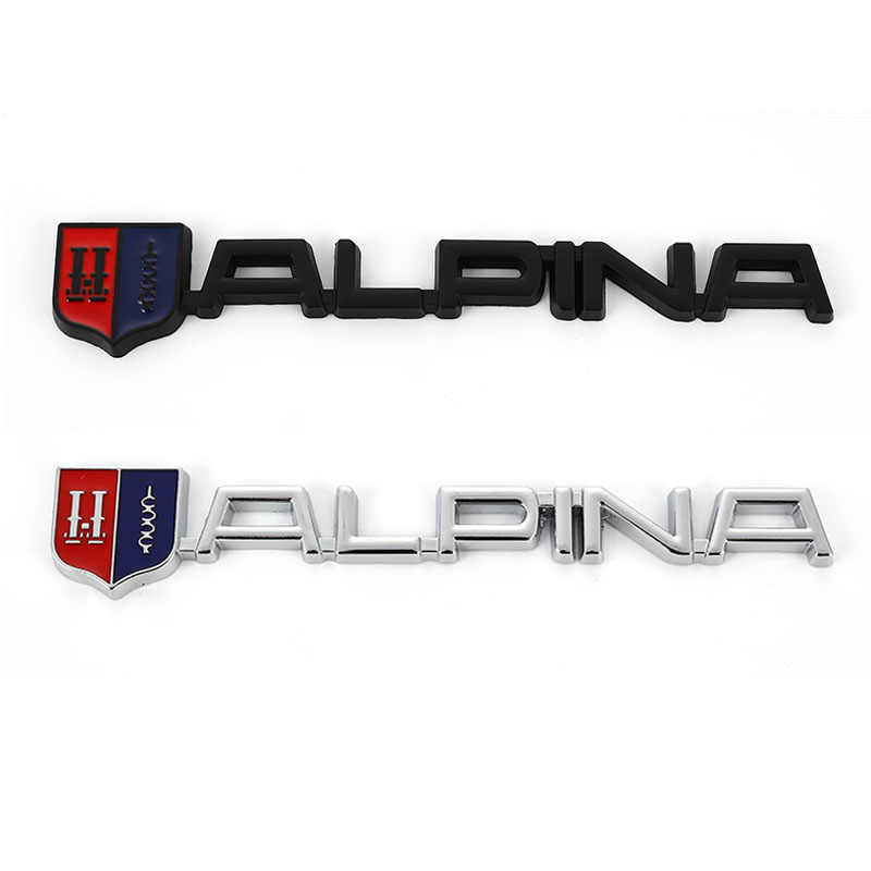 Car Sticker Trim Front Hood Grille Emblem Badge 3D Car Decals for BMW M E46 E39 E90 E36 E60 F30 X5 E53 F10 Alpina B3 B4 B5 B7 D5