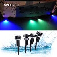 Led Boot Licht Waterdicht 12V Boog Stern Veiligheid Verlichting Marine Eend Lite Onderwater Ski Gunwales Lane Marker Lite Dirtbike