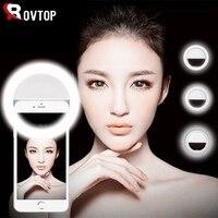 Lámpara de Selfie Universal para teléfono móvil, anillo de Flash portátil, 36 LED, anillo luminoso, Clip de luz para iPhone 8, 7, 6 Plus, Samsung