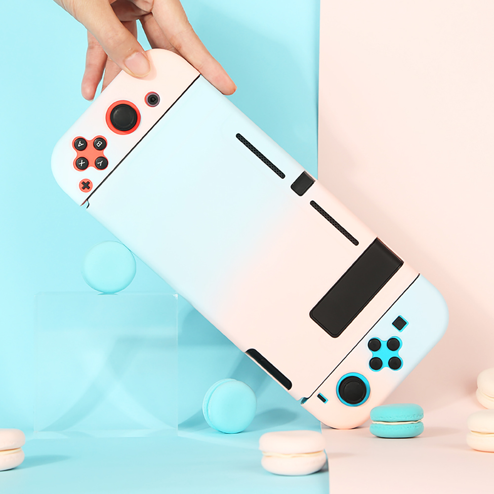 Protective Case Joy Con Controller Shell Hard Housing Full Cover Shell For Nintend Switch Game Console Colorful Shell (2)