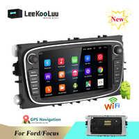 "LeeKooLuu Android 8.1 2 Din Auto Radio 7 ""Autoradio Multimedia Player GPS WIFI MP5 FM Audio Für Ford Mondeo C-MAX s-MAX Galaxy II"