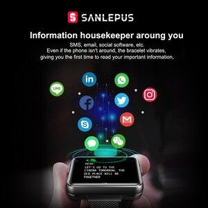 Image 3 - 2021 NEW SANLEPUS Smart Watch Men Women Smartwatch With Wireless Headphones Bluetooth Headphones Earbuds Sport Fitness Bracelet