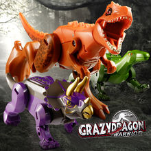 Экшн фигурка с динозаврами трансформирующая подарок для детей