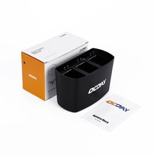 OCDAY Black 3 in 1 Port Battery Dock Charger for DJI Phantom 2 Exquisitely Designed Durable Gorgeous