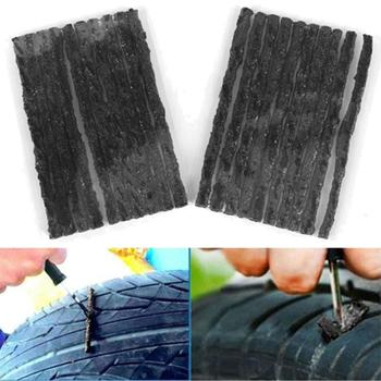 10/30/50Pcs Car Motorcycle Tubeless Tire Wheel Puncture Repair Rubber Seal Strip Car Accessories Outdoor Emergency Fitting image