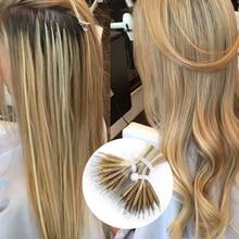 """Isheeny 14 """"18"""" 22 """"волосы Remy для наращивания с микро-бусинами в нано кольцах человеческие волосы прямые 9 цветов блонд европейские волосы"""