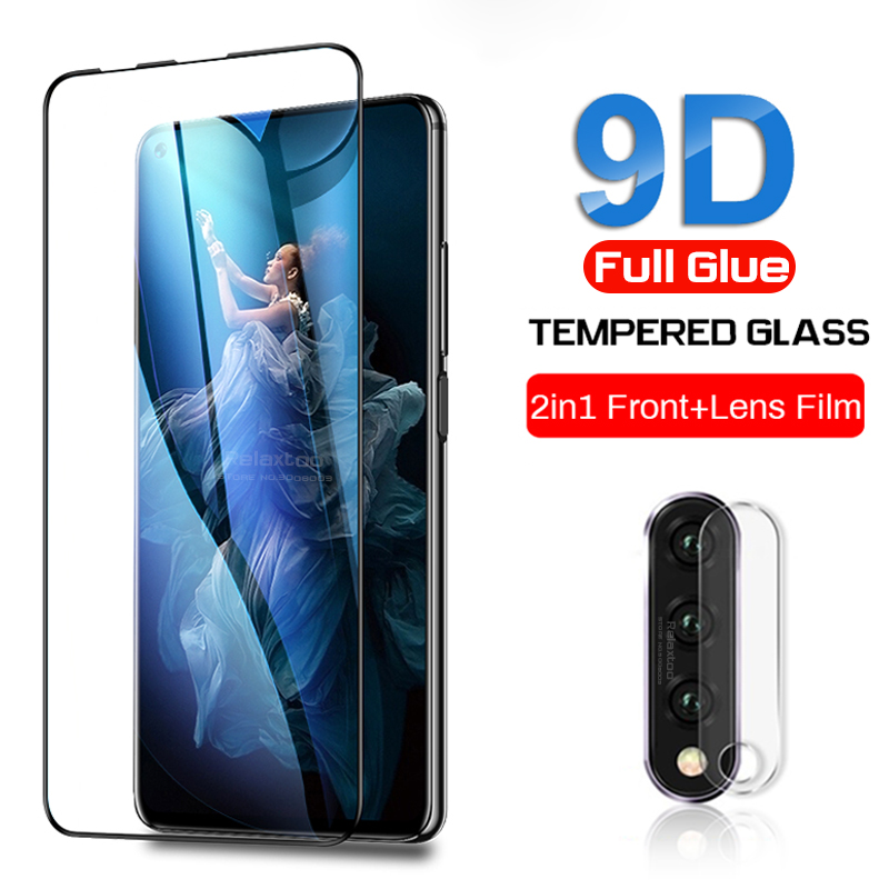 Honor 20 Pro Glass Protective Glass For Huawei Honor 20s View 20 Lite 20i I20 20 View20 V20 Camera Lens Screen Protector Film 9d