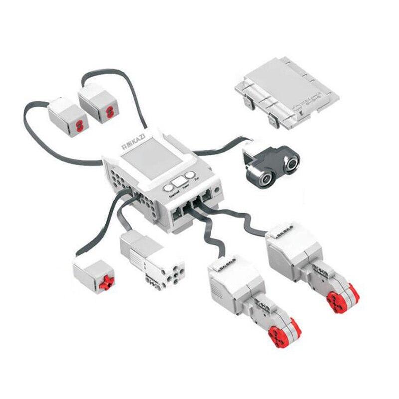 Image 2 - EV3 EV6 Compatible with 45544 Science education Building Block Robot Creative programming intelligent APP Program Toy gifsBlocks   -