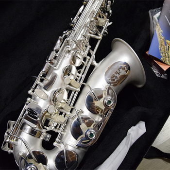 France Professional  Eb E Flat Alto Saxophone Silver-plated matte surface Sax R54 Woodwind Musical instrument with Case france henri selmer 802 new saxophone e flat alto high quality alto saxophone super professional musical instruments saxofone