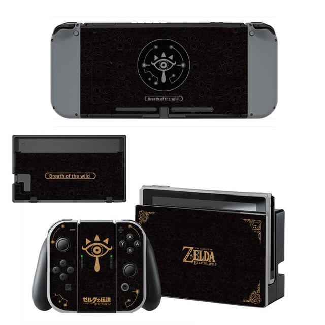 The Legend of Zelda Nintendoswitch Skin Nintendo Switch Sticker Decal per Nintendo Switch Console Joy con Controller Skin Sticker