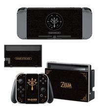 ตำนานของZelda NintendoswitchผิวNintend Switchสติกเกอร์รูปลอกสำหรับคอนโซลNintendo Switch Joy Con Controllerสติกเกอร์ผิว