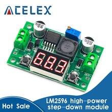Down-Module Voltage-Regulator Led-Voltmeter Step LM2596 Adjustable Dc-Dc buck DC/DC