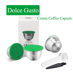 Spoon COFFEE-FILTERS Dolce Gusto Stainless-Steel Nescafe Capsule Refillable Icafilas
