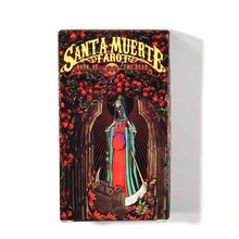 Santa Muerte Tarot Deck:  a powerful tool for working with the mysticism associated with the Day of the Dead and Santa Muerte 09 associated with the midpoint of the vertical single potentiometer 50k rc503w