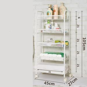Image 5 - מדף Estanteria Etagere Rangement Utensilio דה Cozinha ספוג מחזיק בית מטבח אחסון ארגונית עם גלגלים Prateleira מתלה