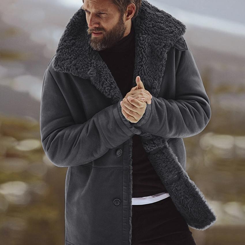 Chaqueta abrigada gruesa abrigo de invierno Chamarras para hombre Parkas Clothes