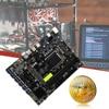 B250C BTC 12P Mining Machine Motherboard PCIe Graph Card DDR4 CPU Miner Board Miner Motherboard Video Card Slot