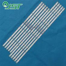 100% Новый 10 шт/комплект светодиодный полоски для INSIGNIA 55 ТВ NS 55DF710NA19 REV B TPT550U2 D077.L LBM550M0501 PJ 4 L LBM550M0501 PK 4 R