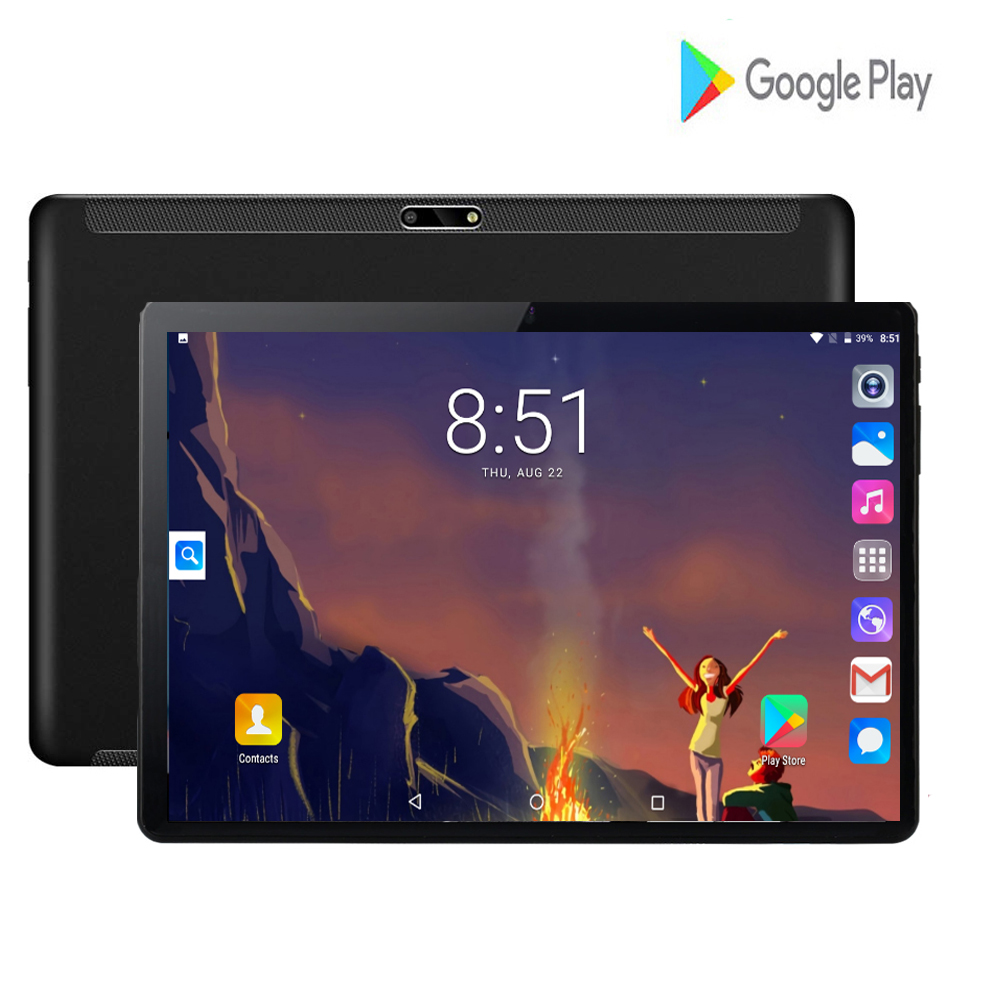 New 10 Inch Tablet Screen Mutlti Touch Android 7.0 Quad Core Ram 2GB ROM 32GB Camera 8MP Phablet Wifi 10 Inch Tablet 3G Pro Tab