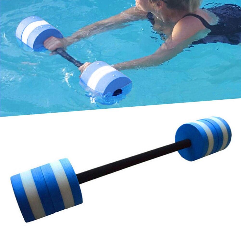 Water Aquatic Barbell Aerobics Dumbbell Pool Aqua Exercise Fitness EVA Barbell New