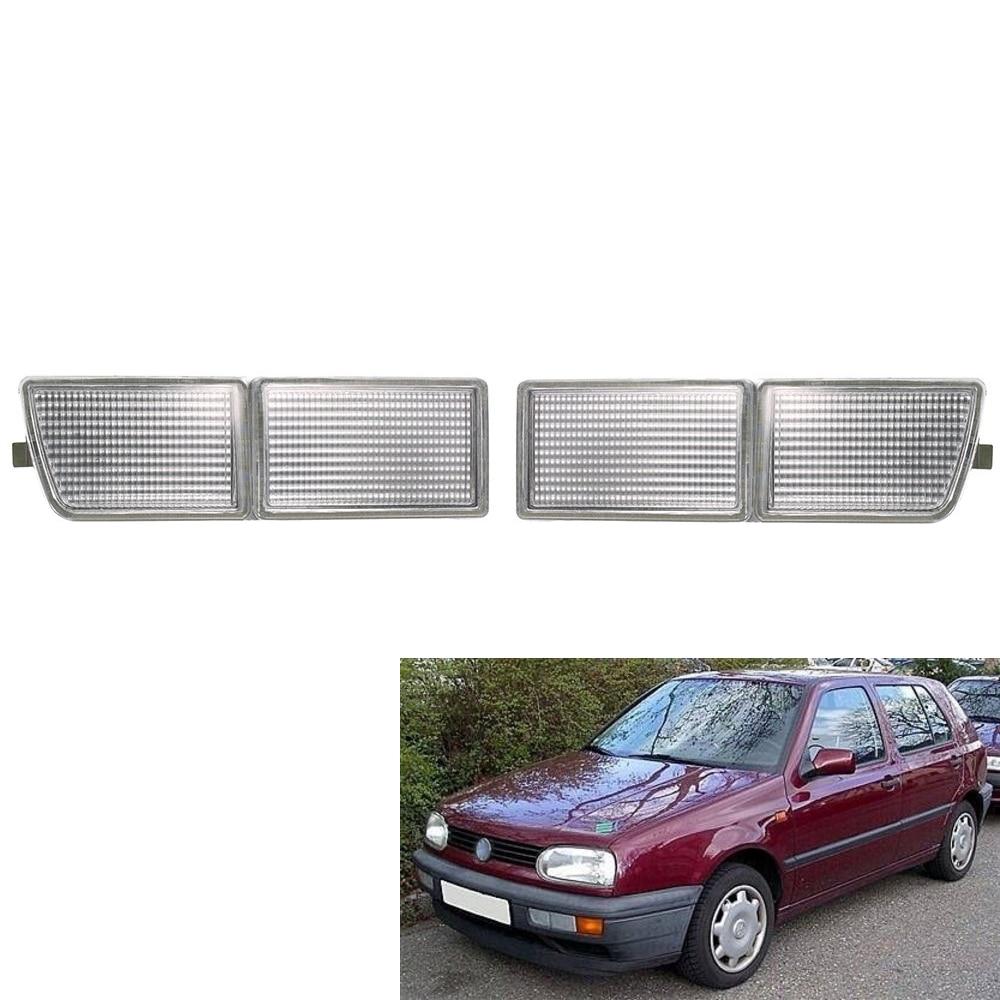 VW Jetta MK3 Vento 1992-1999 Smoke Red Inner Tail Light Rear Lamp RIGHT
