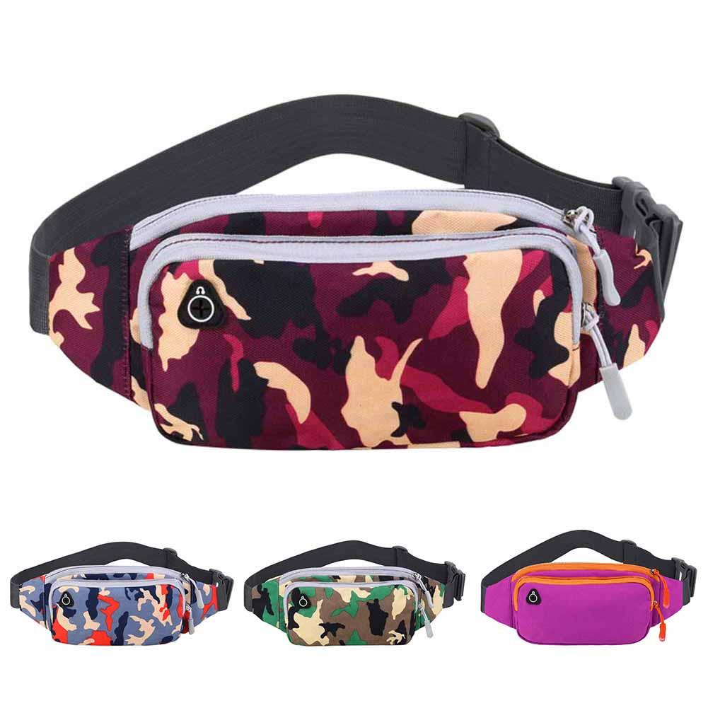 Unisex Outdoor Running Sports Waterproof Mobile Phone Chest Bag Waist Fanny Pack