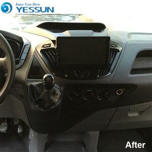 Image 2 - Reproductor Multimedia Android para coche Ford Transit, Radio con navegación GPS, pantalla IPS grande, Mirror Link, estéreo, personalizado, Tourneo 2013 2019