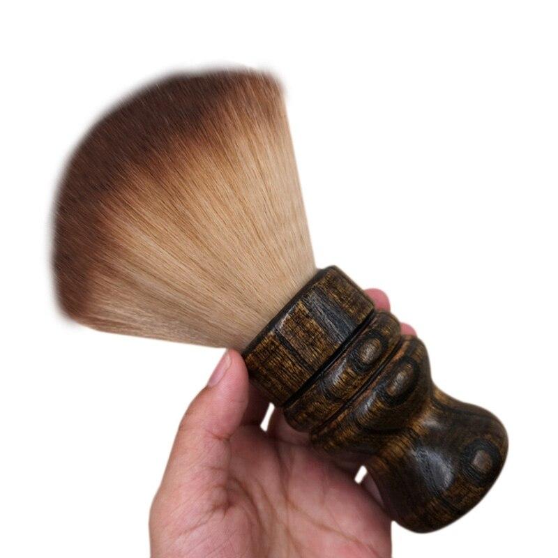 Soft Barber Neck Face Duster Brush Cleaning Hairbrush Hair Sweep Brush Salon Household Hair Cleaning Brush Hair S3