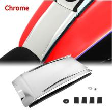Chrome Lower Dash Panel Extension For 2000 2017 Harley Softail Fatboy Night Train Model