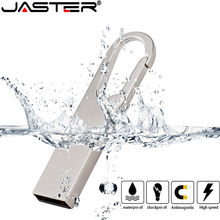 JASTER Metalen USB Flash sürücü 64 gb thumbdrive 16GB 4 GB Pendrive 32gb Flash bellek sopa 128gb waterdicht kalem sürücü usb disk