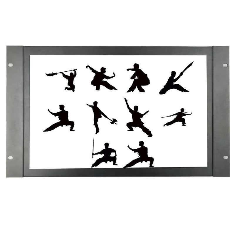 Zhixianda 17.3 Pollici Monitor Industriale 1920*1080 Hdmi Vga Bnc Av Ingresso Usb con Altoparlante Open Frame Monitor Touch
