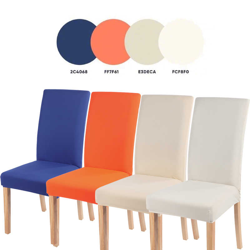 Fabric Chair Cover For Dining Room