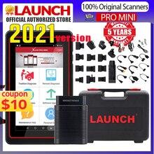 LAUNCH X431 Pro Mini Diagnostic Tool For 10000+ Car Modes Full System X431 V Pros Mini Key Fob Program /ECU Coding/30+ Resets