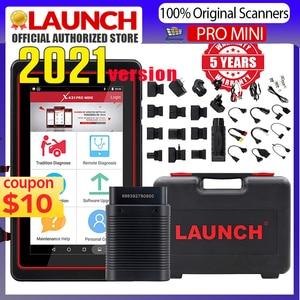 Image 1 - LAUNCH X431 Pro Mini Diagnostic Tool For 10000+ Car Modes Full System X431 V Pros Mini Key Fob Program /ECU Coding/30+ Resets