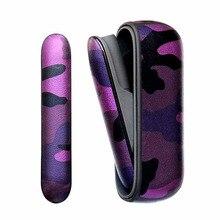 4 Kleuren Camouflage Leather Case Voor Iqos 3.0 Pouch Case En Side Cover Holder Box Voor Iqos 3 Duo Beschermende shell Accessoires