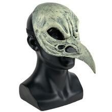 Carnival Bird Beak Mask Cosplay Animal Crow Punk Half Face Masks Masquerade Halloween Party Props
