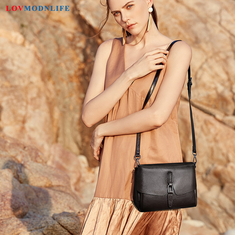 Luxe femmes devrait sac femme noir petits sacs à main femme 2019 mode Crossbody sacs pour femmes dames sacs à main en cuir véritable - 3