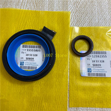 1Set Crankshaft Front Rear Oil Seal 12592355 24447223 55555805 For Chevrolet Cruze Sonic Trax Hideo Epica Aveo Opel Astra Zafira