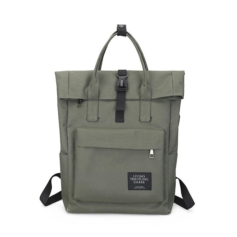 H98de16d807f24744ab32cfe2b13f6dcf6 Women External USB Charge Backpack Canvas Rucksack Male Mochila Escolar Girls Laptop Shoulder School Bags Backpack for teens