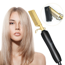 Comb Straightening Electric Household Curling Copper Wet-And-Dry Multifunctional