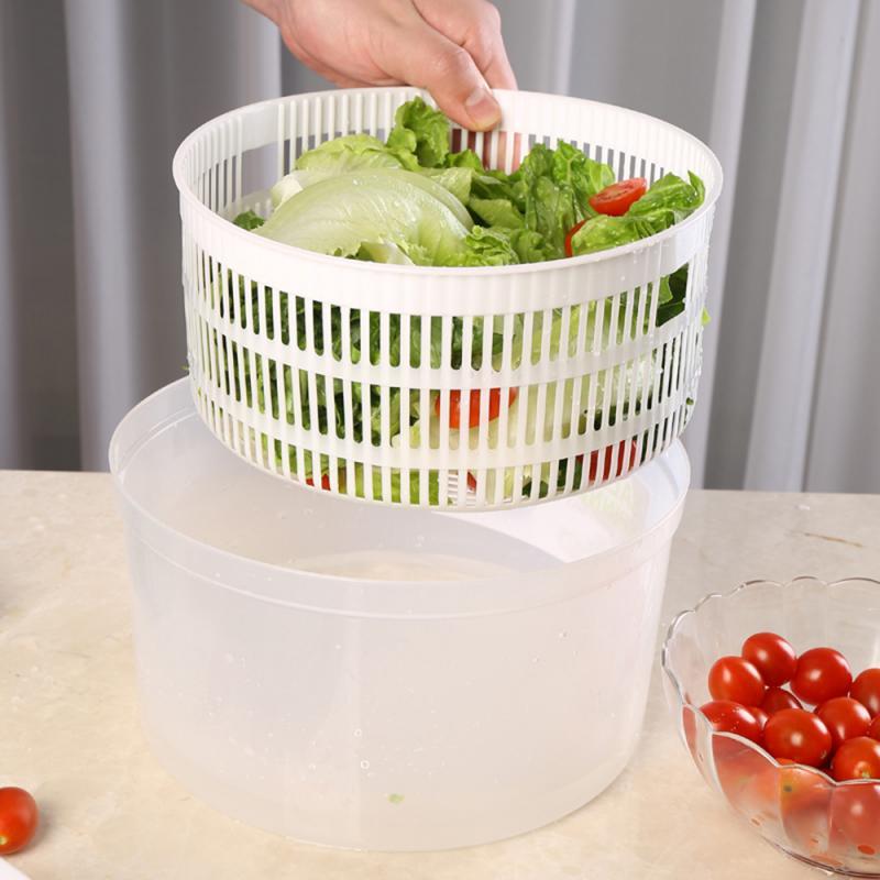 1 шт. большая ручная сушильная машина для салата, сушилка для салата, салата, овощей, сушки овощей, бытовой осушитель для фруктов