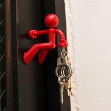 1 шт. магнитные вешалки для ключей злодей супер магнитные железные крючки для скалолазания на стену наклейки для холодильника домашний декор