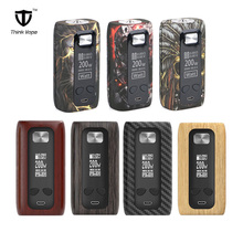 лучшая цена Original Think Vape Thor pro MOD 220w Dual 18650 Electronic Cigarette mod VW/TC/Bypass TFT screen vs Vape Thor box mod